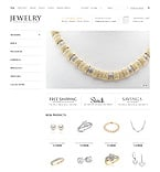 Jewelry osCommerce  Template 38740