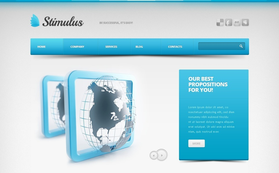 Drupal Template over IT  New Screenshots BIG