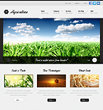 Agriculture Drupal  Template 38747