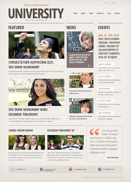 Drupal Template 38751 Main Page Screenshot