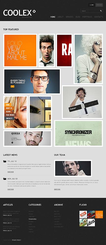 Joomla Theme/Template 38755 Main Page Screenshot
