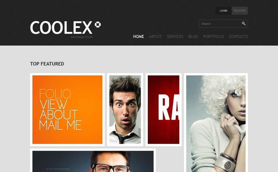 Joomla Template over Ontwerpstudio  New Screenshots BIG