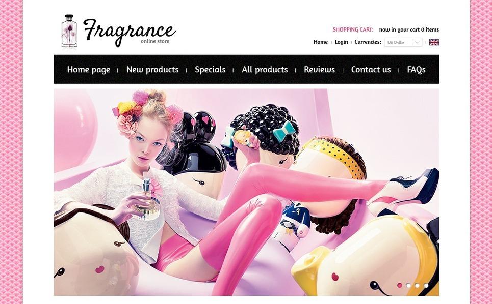 Tema ZenCart  #38766 per Un Sito di Negozio Cosmetici New Screenshots BIG