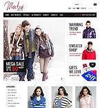 Fashion ZenCart  Template 38767