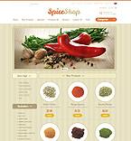 Food & Drink ZenCart  Template 38772