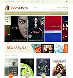 Books ZenCart  Template 38773