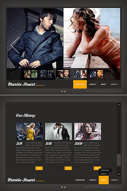 ADOBE Photoshop Template 38785 Home Page Screenshot