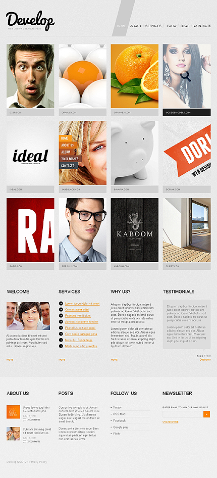 Joomla Theme/Template 38788 Main Page Screenshot