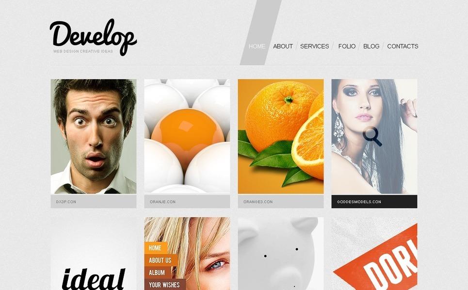 Template Joomla  #38788 per Un Sito di Design Studio New Screenshots BIG