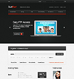 Web Hosting Website  Template 38794