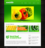 Agriculture Website  Template 38796