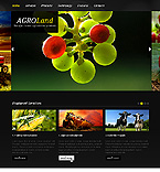 Agriculture Website  Template 38807