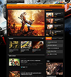 Games Website  Template 38812