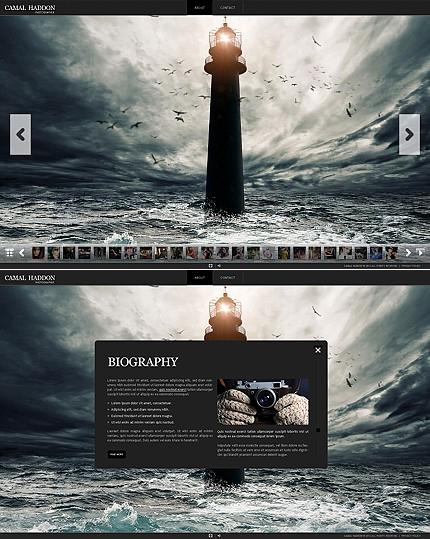 ADOBE Photoshop Template 38821 Home Page Screenshot