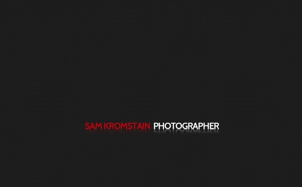 Fényképész portfóliók Fényképgaléria sablon New Screenshots BIG