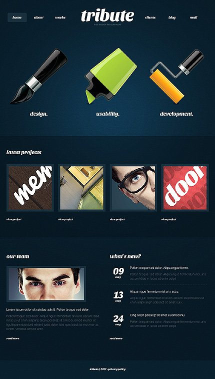 Joomla Theme/Template 38823 Main Page Screenshot