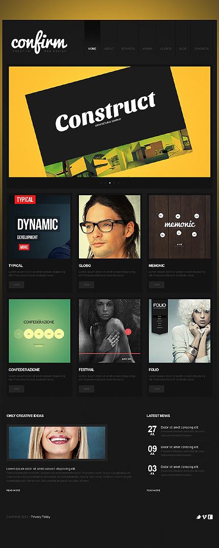 Joomla Theme/Template 38824 Main Page Screenshot