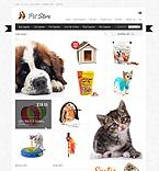 Animals & Pets ZenCart  Template 38826