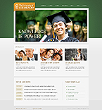 Education Website  Template 38830