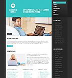 Computers Website  Template 38838