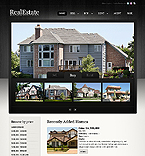 Real Estate Website  Template 38841