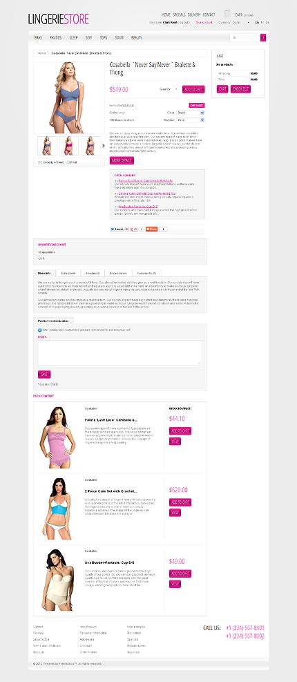 ADOBE Photoshop Template 38854 Home Page Screenshot