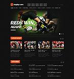 Sport Website  Template 38865
