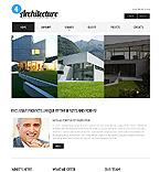 Architecture Website  Template 38866