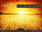 Agriculture Flash CMS  Template 38875