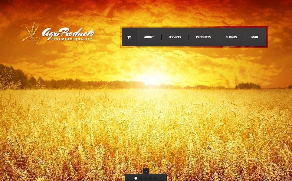 Template Flash CMS para Sites de Agricultura №38875 New Screenshots BIG
