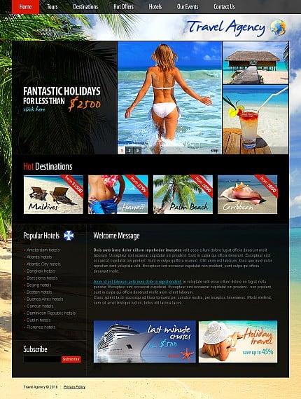 ADOBE Photoshop Template 38879 Home Page Screenshot
