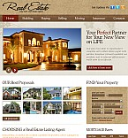 Real Estate Flash CMS  Template 38880