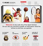 Sport Flash CMS  Template 38882