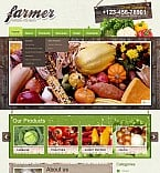 Agriculture Flash CMS  Template 38884