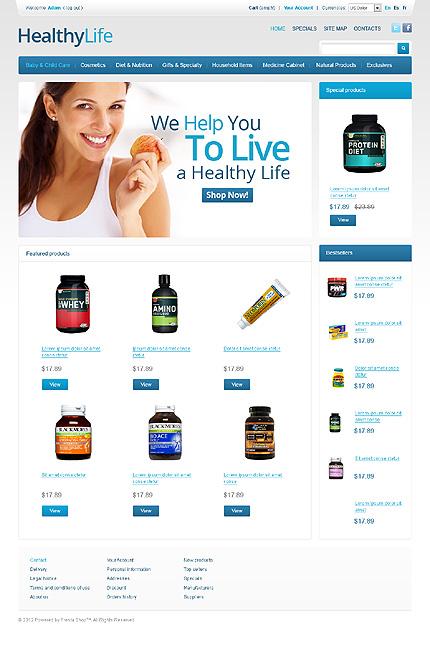 ADOBE Photoshop Template 38894 Home Page Screenshot