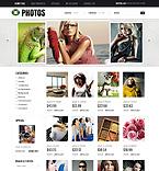 Art & Photography osCommerce  Template 38895