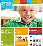 Education Facebook Flash CMS  Template 38919