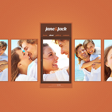 Template 38935 ( Gallery Page ) ADOBE Photoshop Screenshot