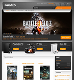 Games PrestaShop Template 38937