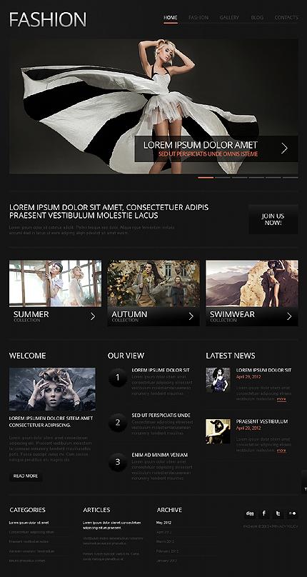 Joomla Theme/Template 38943 Main Page Screenshot