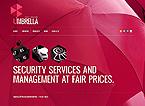 Security Website  Template 38950