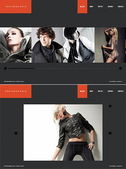 ADOBE Photoshop Template 38956 Home Page Screenshot