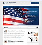 Politics Website  Template 38961