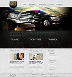 Security Website  Template 38976