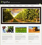 Agriculture Flash CMS  Template 38993