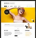 Art & Photography Flash CMS  Template 38997