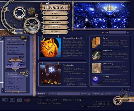 Многостраничный шаблон для сайта (Template Monster № 3956)