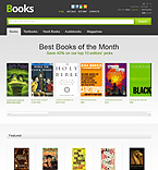 Books PrestaShop Template 39003