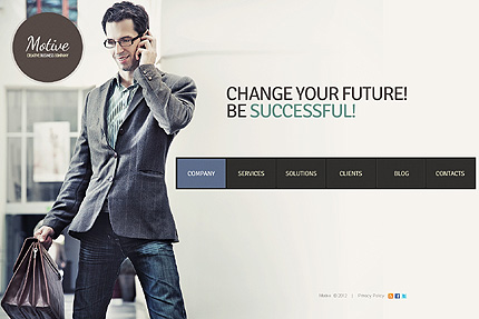 Joomla Theme/Template 39010 Main Page Screenshot