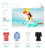 Fashion VirtueMart  Template 39019